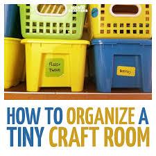 Organize A Craft Room - craft room organization how to organize a tiny craft room