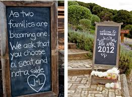 wedding chalkboard ideas wedding planner event co ordination nottingham derby