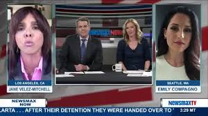after the jane velez was cancelled what does she do now with her time newsmax now jane velez mitchell and emily compagno discuss attack