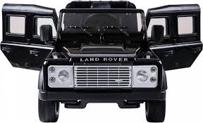 land rover black ride on range rover style 12v electric jeep