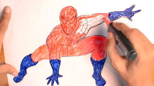 spiderman coloring pages kids color spiderman