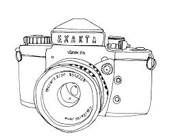 little bee designs vintage camera u0027s quick drawings