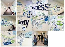 wall mural idea for office www vinylimpression co uk exhibition
