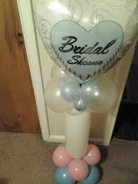 Table Top Balloon Centerpieces by Bridal Shower Table Top Column
