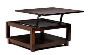 Arlington Lift Top Storage Ottoman Modern Coffee Table