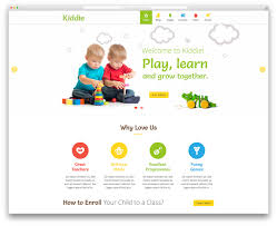 top 15 colorful kindergarten wordpress themes 2017 colorlib