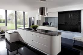 kitchen style modern black granite countertops high end kitchen