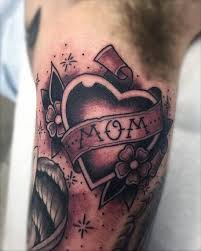 50 traditional heart tattoo designs for men devotion ink ideas