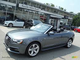 audi convertible 2016 2016 audi a5 premium plus quattro convertible in monsoon gray