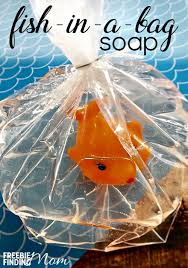 soap party favors party favors for kids fish in a bag soap