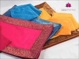 Brocade Home Decor Indian Silk Table Mats By Casa Amarosa Home Decor India