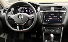 volkswagen tiguan 2018 interior 2018 volkswagen tiguan one handsome beast the car guide