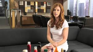 donna hair hair and makeup tips from the set of suits with rafferty