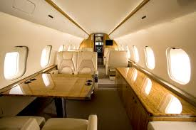 interior decoration awesome private jet interior design shiny
