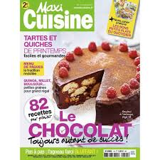 abonnement magazine de cuisine abonnement maxi cuisine 1 achat vente livre parution pas