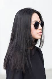 haircuts appropriate for navy women blunt cut long hair straight across long hair styles