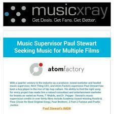 Seeking Best Friend Song Supervisor Paul Stewart Seeking For