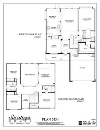 floor plans by saratoga homes