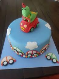 dinosaur birthday cakes cars and dinosaur birthday cake cakecentral