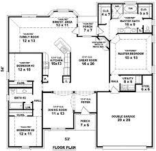 3 bedroom 3 bath house plans spectacular idea 4 bedroom 3 bath floor plans bedroom ideas