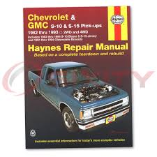 100 gmc sonoma s10 service manual everydayautoparts com