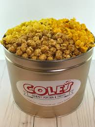 tins gifts coles popcorn