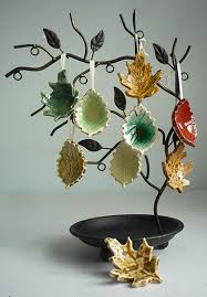 a project for autumn leaf ornaments