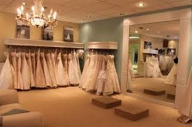 wedding boutiques look at the sash racks on the wall to the left those are ikea and