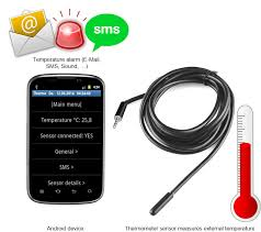 android thermometer diy sms e mail temperature alarm for your android phone tablet