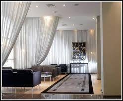 Hang Curtain From Ceiling Decorating Catchy Hang Curtain From Ceiling Decorating With Curtains Ceiling