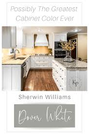 best sherwin williams paint color kitchen cabinets kitchen cabinets in sherwin williams dover white painted