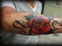rose vine tattoos for men cool tattoos bonbaden