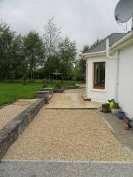 travertine patio u0026 limestone gravel driveway rossin slane co