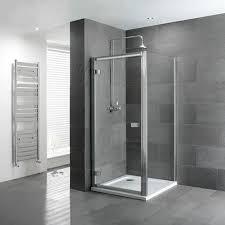 Shower Hinged Door Volente Hinge Door Silver Shower Enclosure Buy At Bathroom City