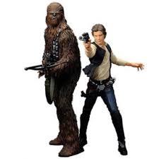 Chewbacca Halloween Costume Star Wars Kotobukiya Artfx Statue Han Solo U0026 Chewbacca