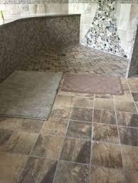 walk in shower granite wall spa rainfall shower head stone wall
