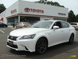lexus awd sedan for sale 2013 lexus gs 350 awd f sport in starfire white pearl 002440