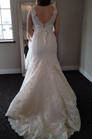 Wedding Dress Bustle Show Me Your Mermaid Bustle U2014 The Knot