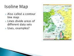 isoline map definition unit one intro to geography and physical geography ppt