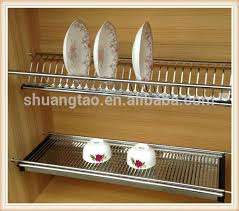 kitchen dish rack ideas cabinet drying rack low price cabinet door drying racks view