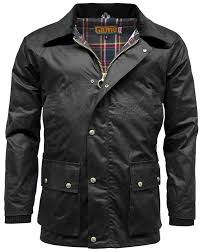 new british quilted padded country wax cotton rain jacket amazon