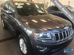 silver jeep grand cherokee 2015 new and used jeep grand cherokees for sale in west virginia wv