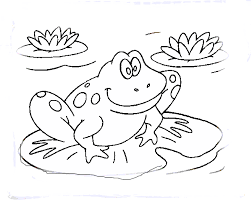 Page 11 Free Coloring Kids Area Area Coloring Pages With 100 Frog Colouring Page