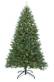9 ft pre lit canadian pine artificial tree clear lights