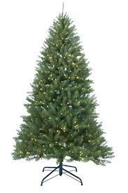 9 ft pre lit essex pine medium artificial tree clear