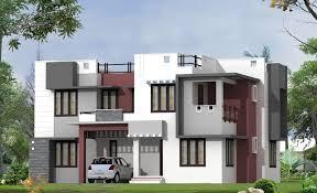 1995 square feet modern house exterior kerala home design and