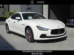 chrome maserati ghibli pre owned 2017 maserati ghibli s 4dr car in glendale 18m211a
