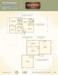3 level split floor plans traditional floor plans the princeton wayne homes