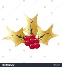 christmas mistletoe icon symbol design vector stock vector