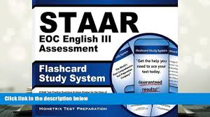 read online staar eoc english iii assessment flashcard study